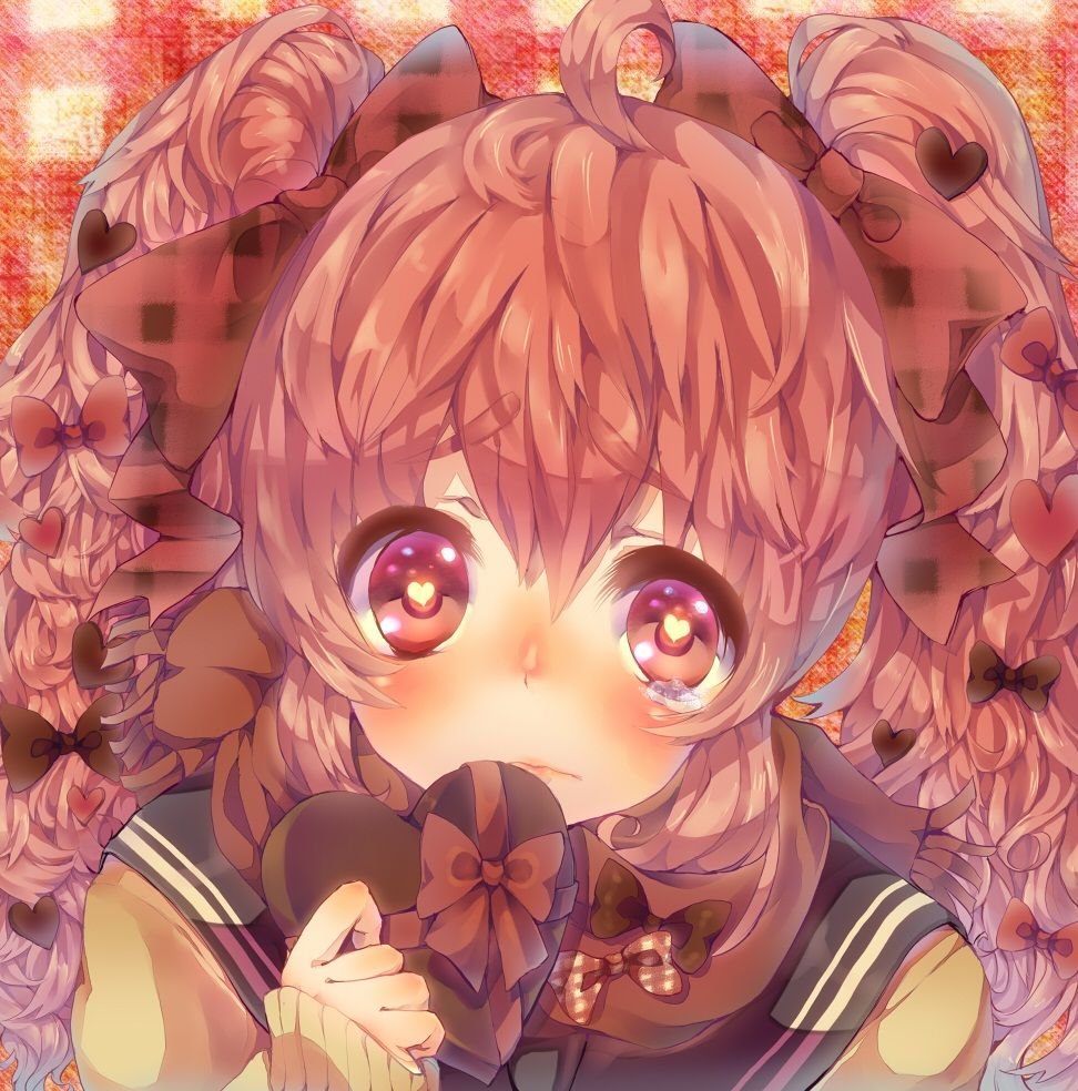 St Valentine S Day Anime School Girl Anime Wallpaper Holidays
