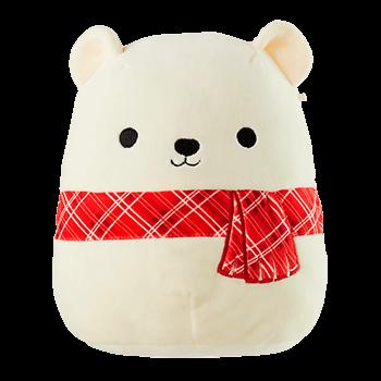 8 Squishmallow Plush Bear Bear Plush Huggable Very Merry Christmas