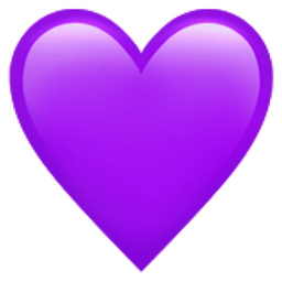Purple Heart Png 256 256 Purple Heart Tattoos Purple Emoji Heart Emoji