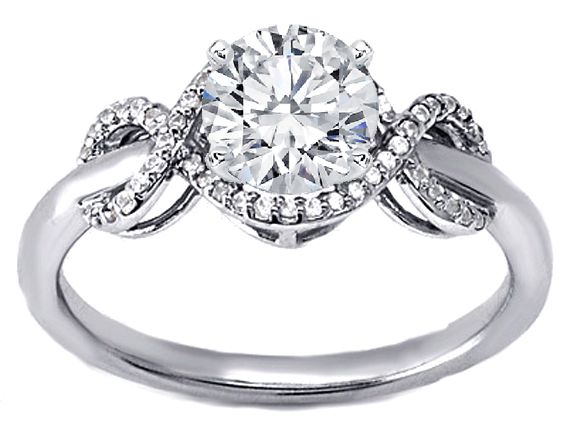 infinity diamond engagement ring. infinity diamond engagement ring - es1190 uhhhh hello perfect! (with princess cut, obviously p
