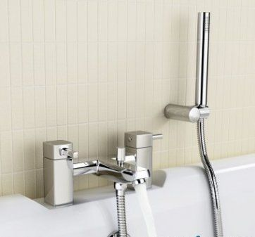 Ivela Bath Mixer Taps with Hand Held Shower Head [PTTB65