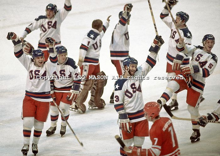 1980 Olympic Games Lake Placid Usa Beats Ussr In The Hockey Final Olympic Hockey Hockey Finals Us Olympics