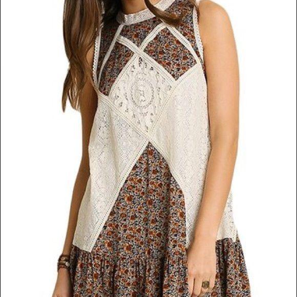 Umgee dress size medium, gorgeous dress! NWT NWT beautifully made high quality bohemian dress! Dresses Mini