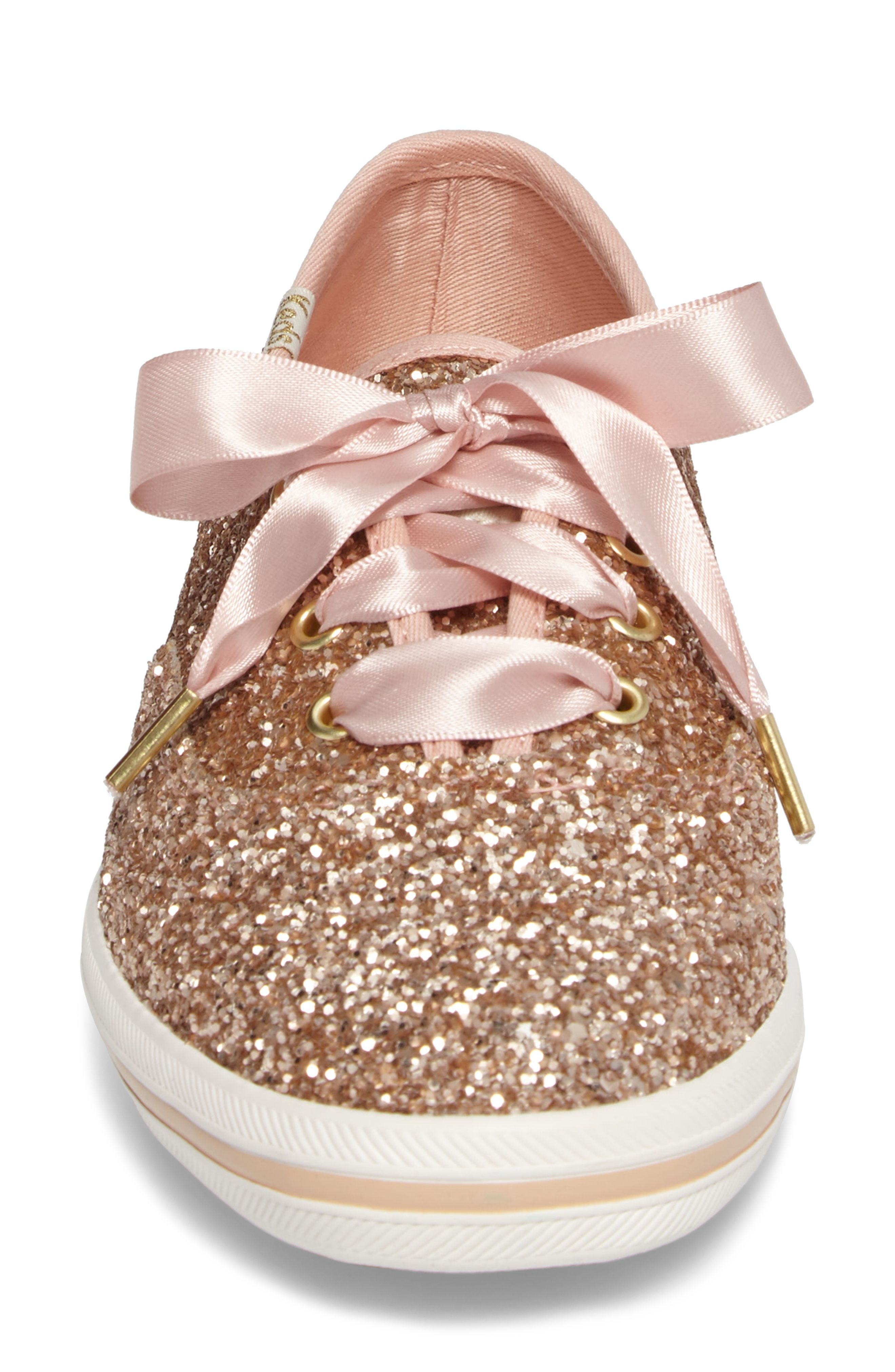 201a68d07eb LOVE this rose gold kate spade x keds sneaker!