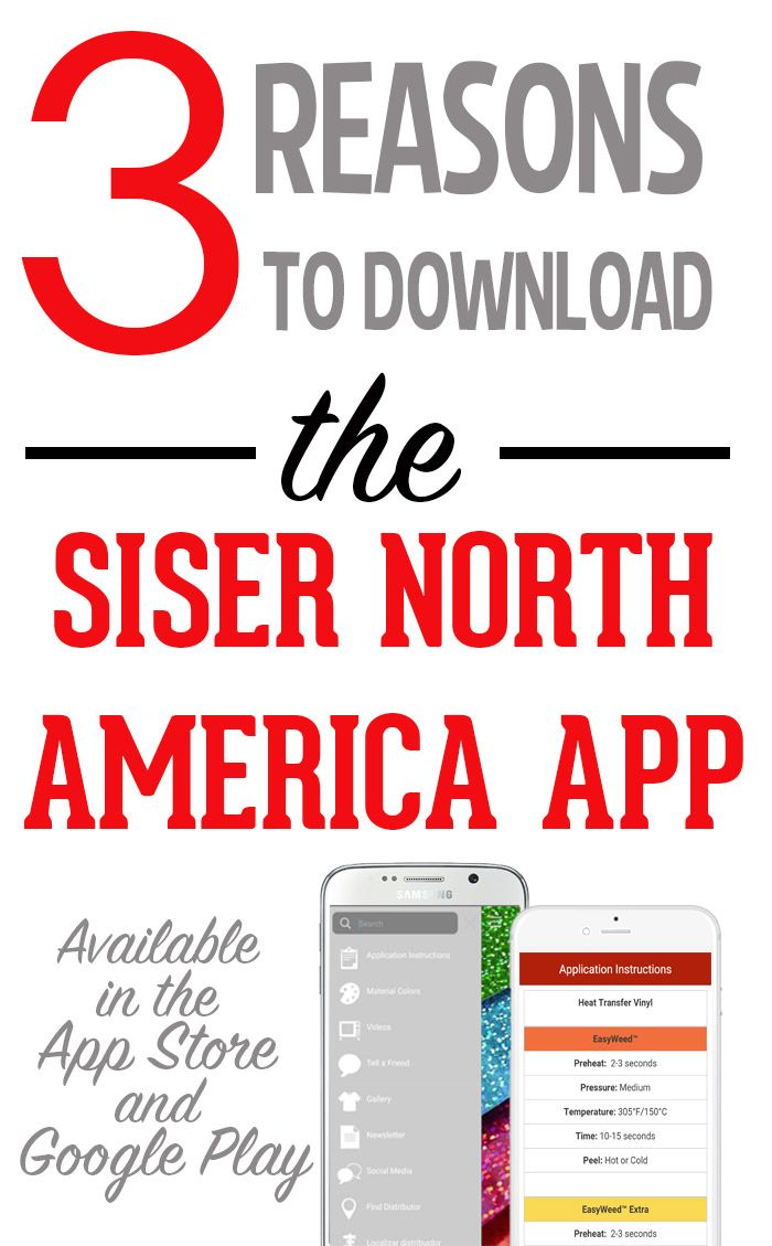 3 Great Reasons to Download the Siser North America App