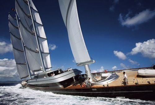 Super High Tech Sail Boat Wally Yachts Sailing Yacht