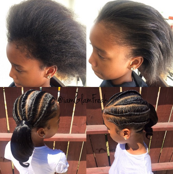 Lovely Style Iamglamfreak Black Hair Information Community Hair Styles Kids Hairstyles Prom Hairstyles For Short Hair