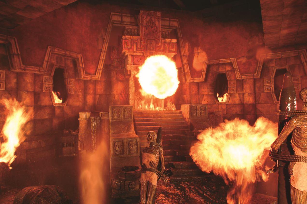 Templo Del Fuego Portaventura Spain I Wanna Go To Spain