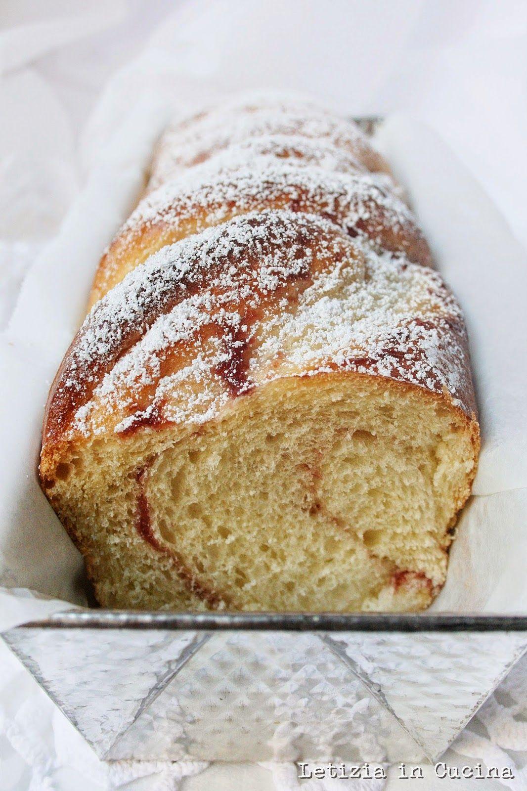 Letizia in Cucina: PanBrioche alla Marmellata a lievitazione ...