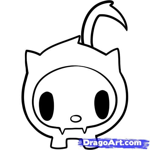 tokidoki coloring pages - Tokidoki Donutella Coloring Pages