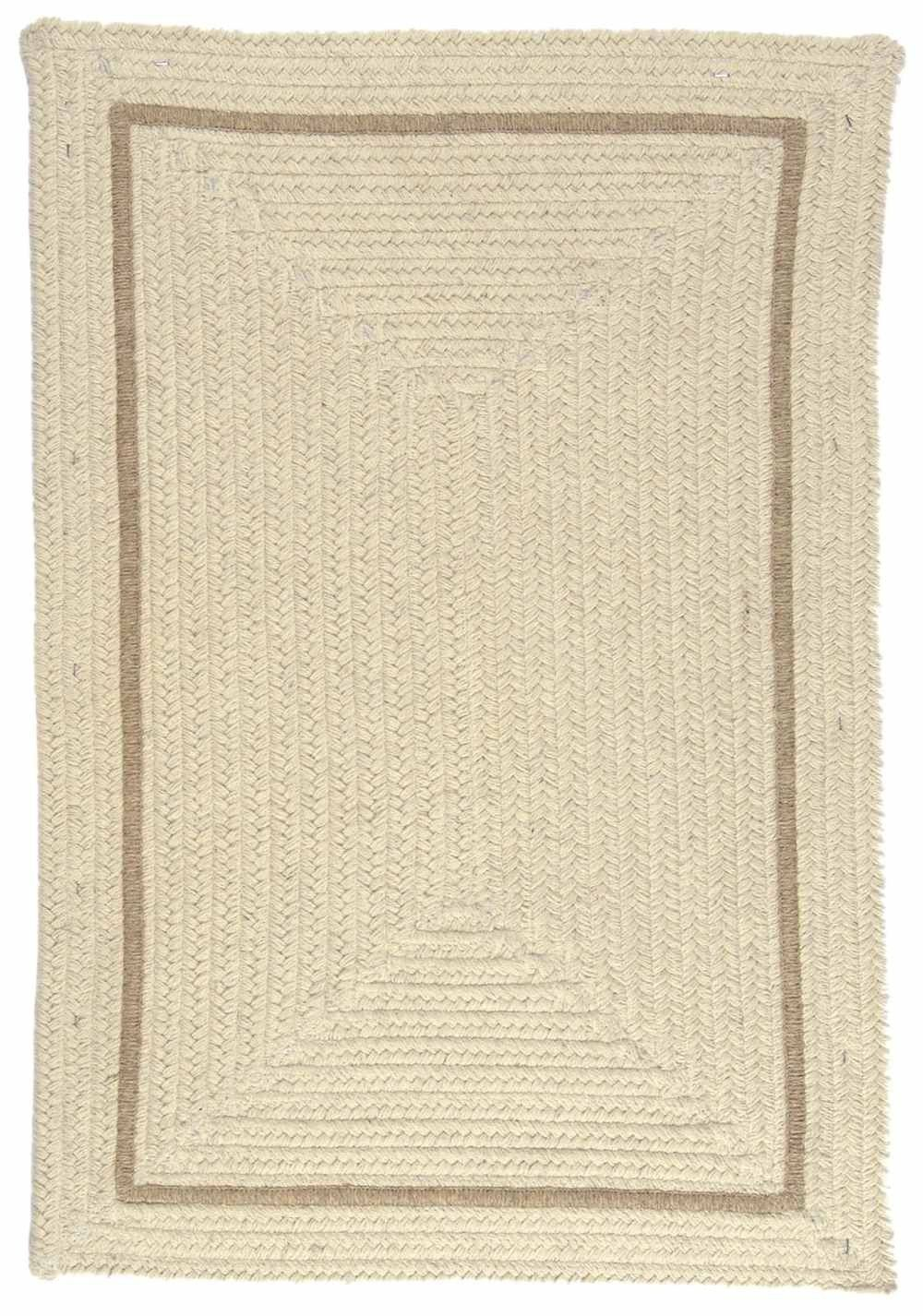 Shear Natural En30 Braided Canvas Rug