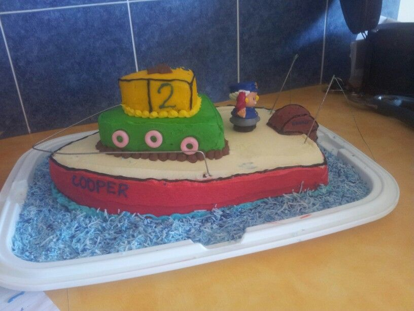 Year Old Boat Birthday Cake Birthday Cake Inspiration - Boat birthday cake ideas