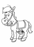 Paarden Kleurplaat Amerigo It Hynder Fan Sinteklaas Het Paard Van Sinterklaas