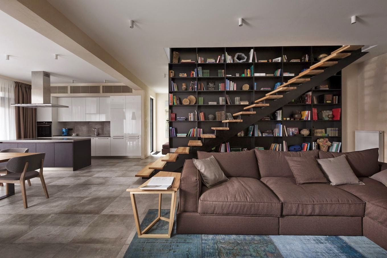 Contemporary Kiev Residence Promotes Harmony With Its Design ...