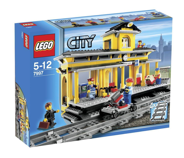 Onetwobrick26 Lego Set Database Set Database Lego 7997 Train Station Lego City Lego Lego Ideeen