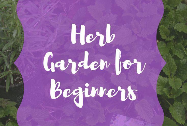 Herb Gardening Ideas For Beginners Gardening For 400 x 300