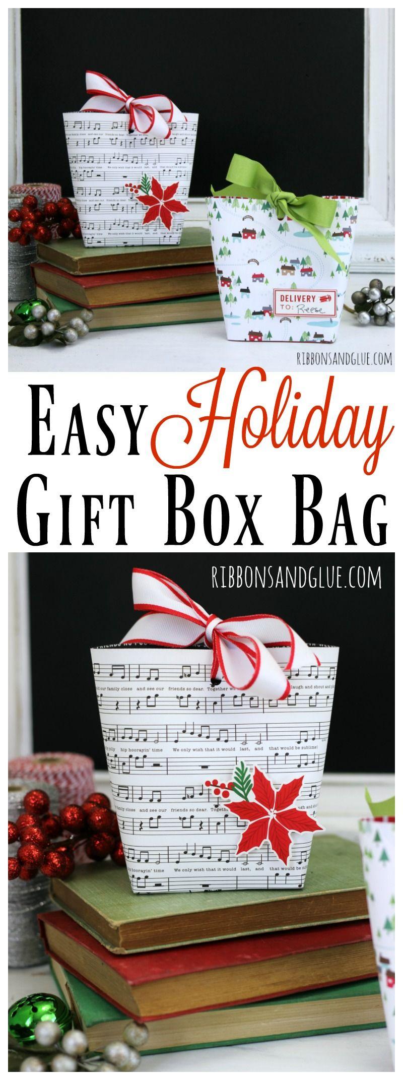 Easy Gift Box Bag