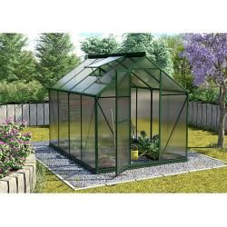 Photo of Vitavia Triton 5000 greenhouse (2.56 x 1.98 x 2.07 m, color: emerald, polycarbonate, 4 mm) Vitavia