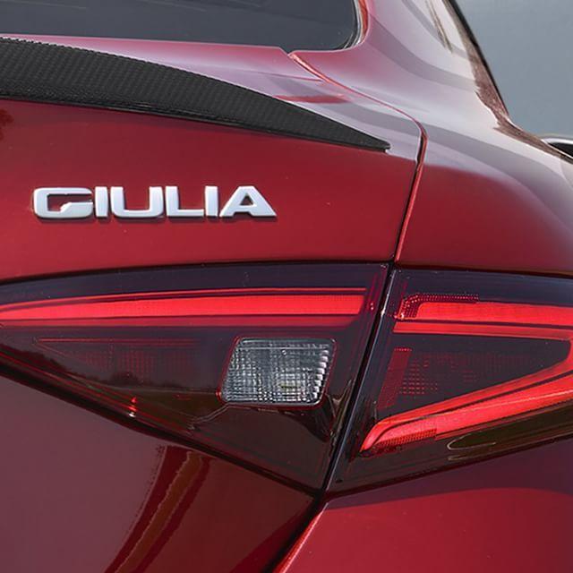 Alfa Romeo Giulia closeup!