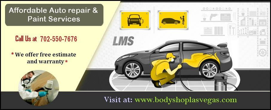 Pin On Auto Body Repair And Paint In Las Vegas