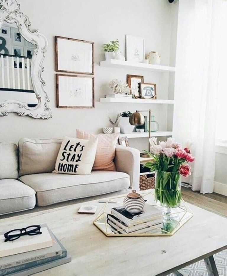 Neat And Cozy Living Room Ideas For Small Apartment 16 #smallapartmentlivingroom