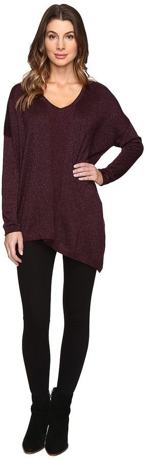 NYDJ Shinner Asymmetric Sweater