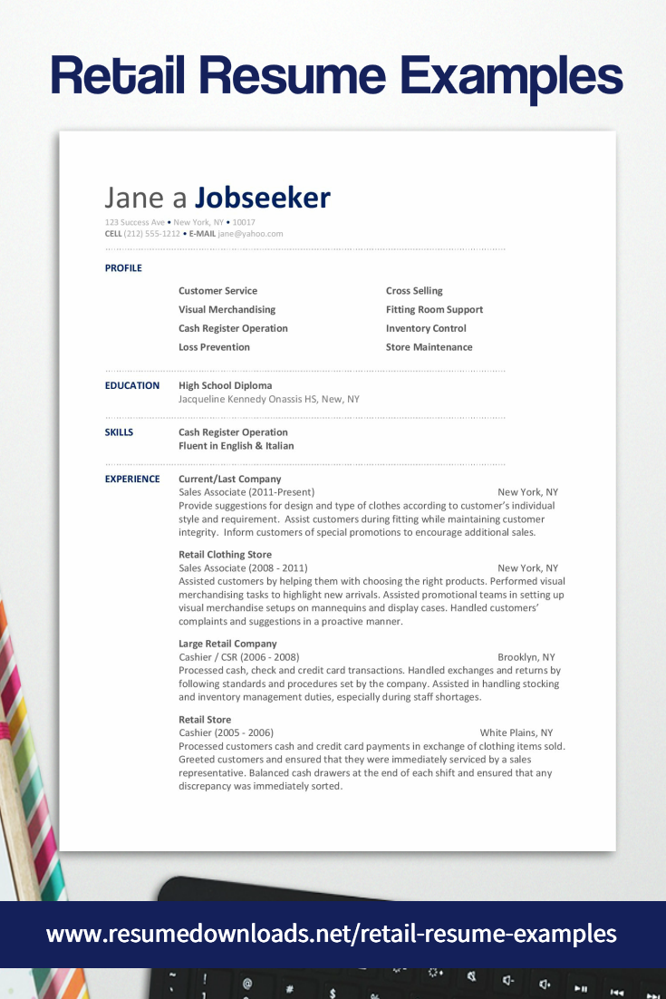 Looking For Retail Resume Examples We Have Resumes For Retail Sales Associates Retail Customer Servic Resume Examples Retail Resume Examples Retail Resume