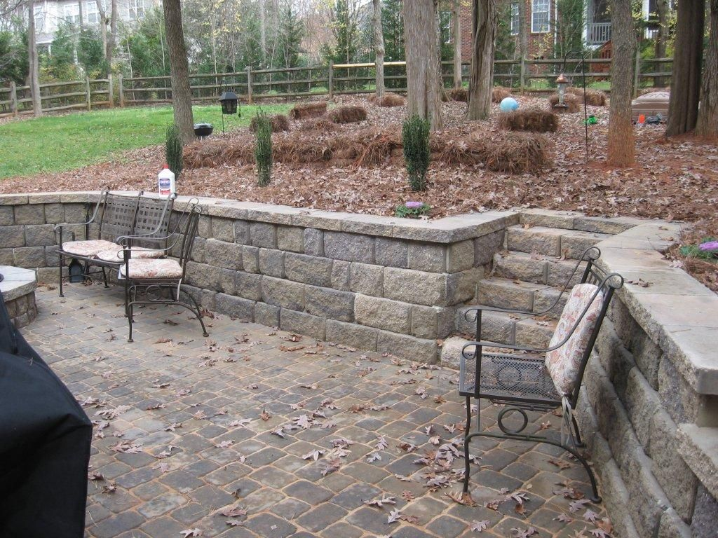 Retainer Wall Ideas Into Patio   Google Search