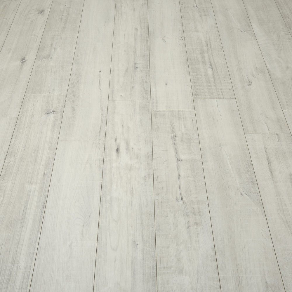 Villa Gala Oak White Laminate Flooring White laminate