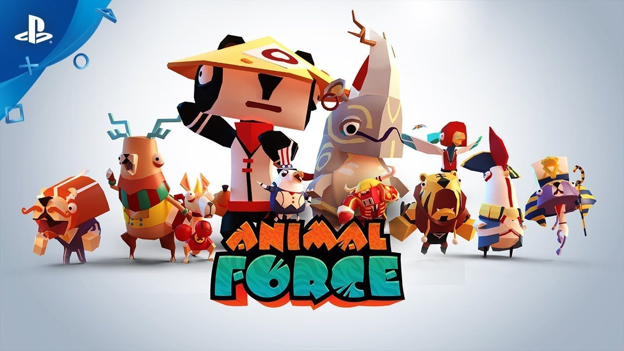 Animal Force Reveal Trailer (With images) Animal games