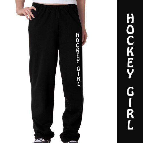 Hockey Girl Fleece Sweatpants Softball Sweatpants Volleyball Outfits Volleyball Sweatpants