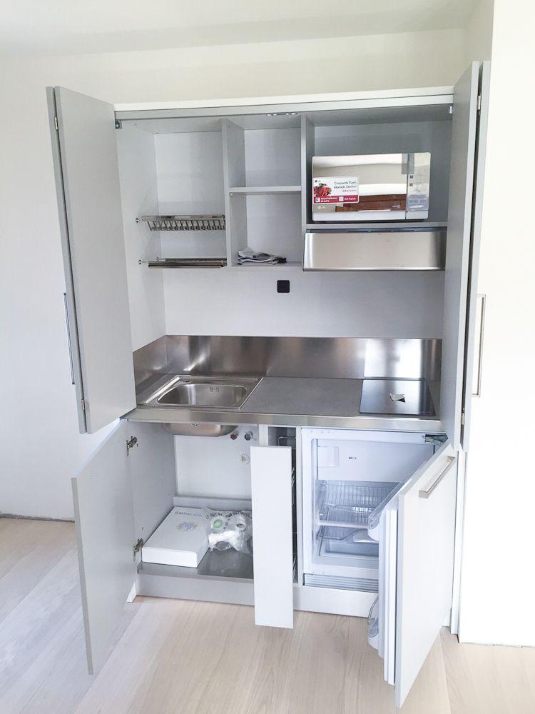 Mini Cucine monoblocco a scomparsa, progettate per piccoli ...