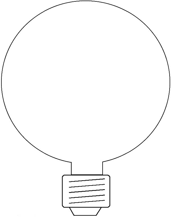 Energy Saving Light Bulb Coloring Pages Download Print Online Coloring Pages For Free Colo Online Coloring Pages Energy Saving Light Bulbs Coloring Pages