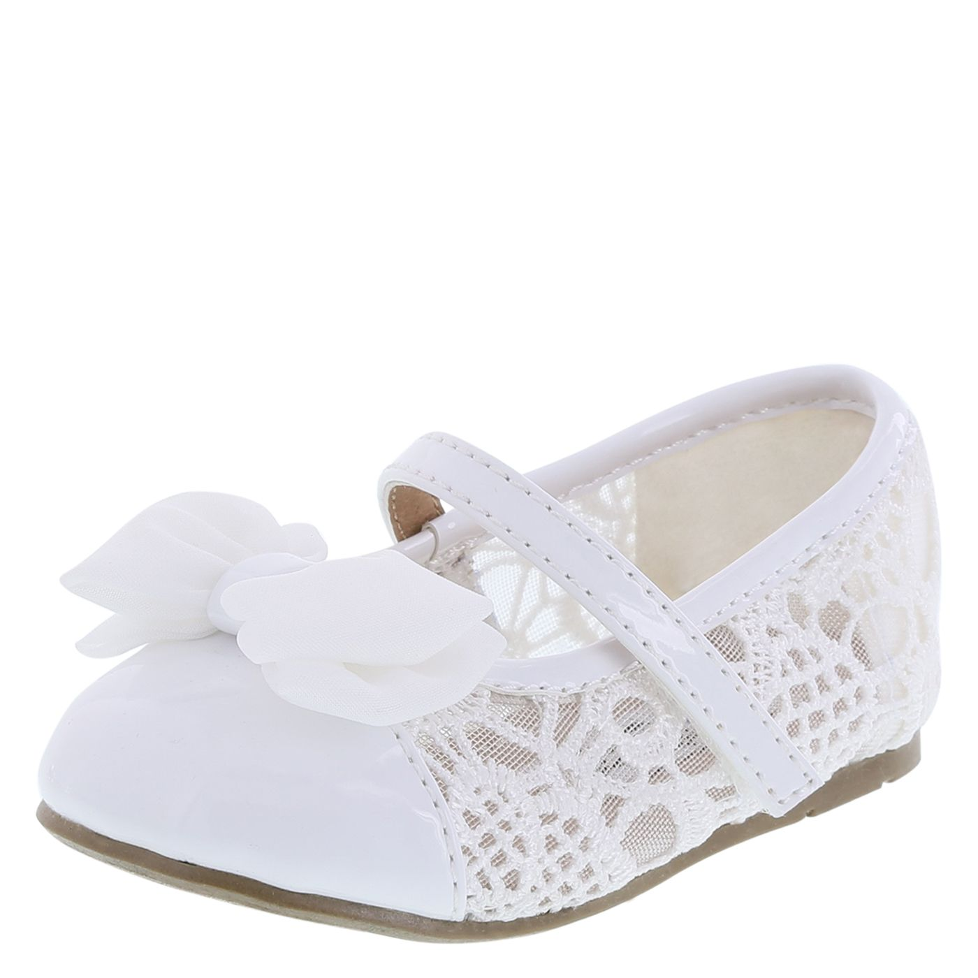Girls Infant Harper Lace Ballet Flat Teeny Toes