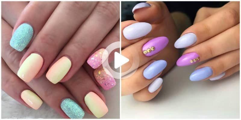 Top 50 Natural Short Nails Design 10 Glitter Gel Nails Summer Nails Colors Designs Dipped Nails
