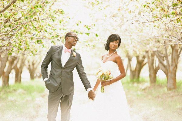African American Wedding Inspiration Trendy Bride 9
