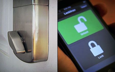 Introducing The Worlds First Iphone Controlled Door Lock Or More