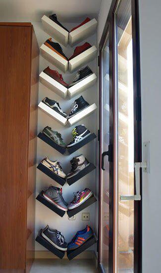 Shoe Storage Ideas Under Stairs