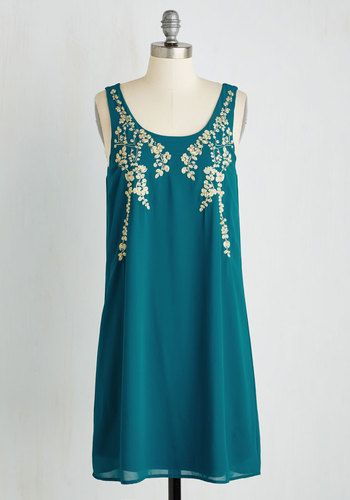Everything Exquisite Dress in Teal, @ModCloth