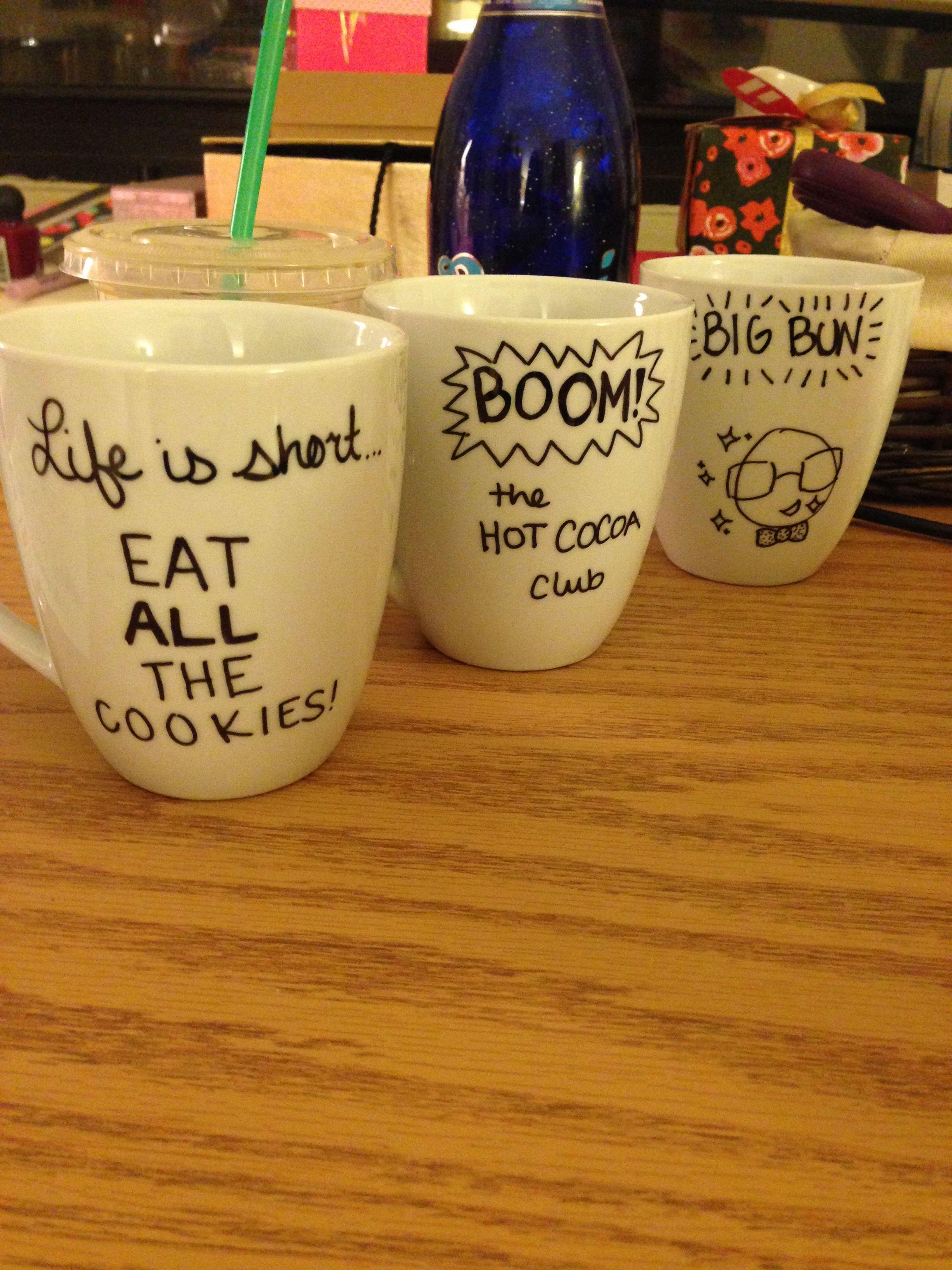 Christmas Office Gifts: Homemade Christmas Mugs   Completed ...