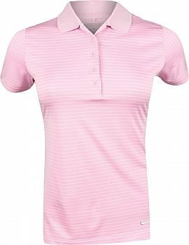 943cf30e6 Nike Women s Dri-FIT Tech Stripe Golf Shirts - ON SALE! Medium ...
