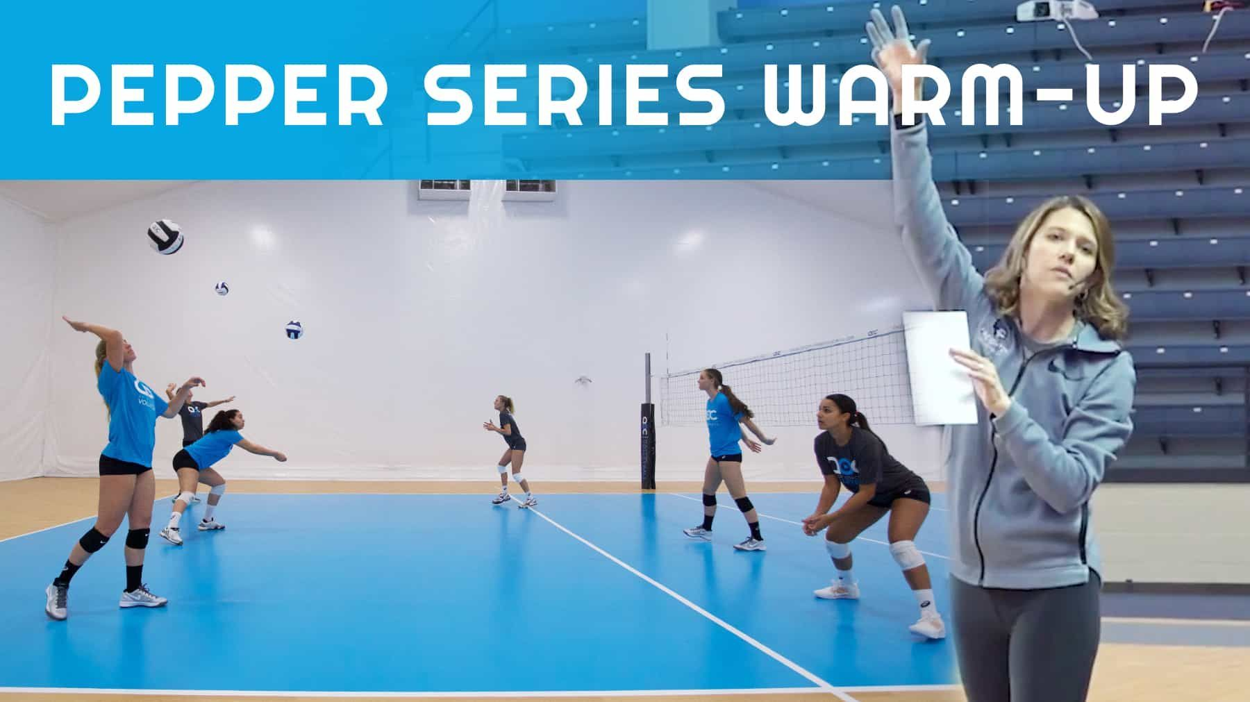 Pepper Series Warm Up The Art Of Coaching Volleyball Coaching Volleyball Workout Warm Up Warmup