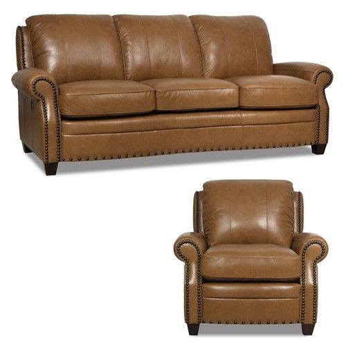 Best Luke Leather Bennett 2 Piece Set Bennett Sc Brown 400 x 300
