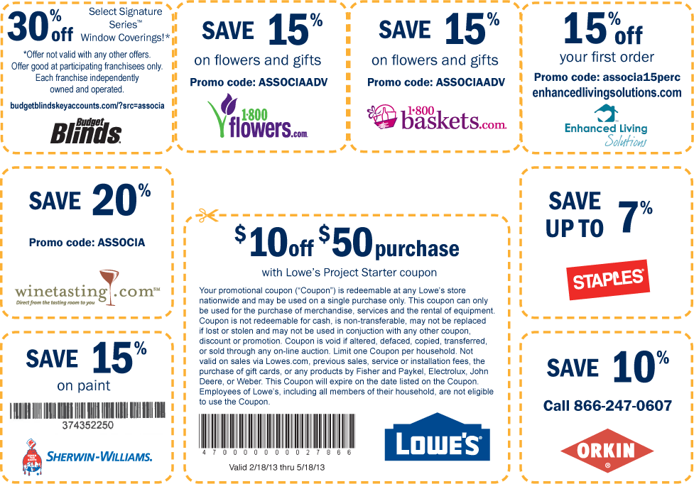 Discount coupons for upack