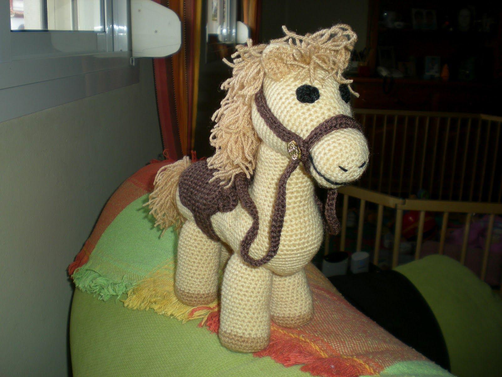 Amigurumis Caballitos A Crochet : Resultado de imagen de caballitos de crochet manualidades