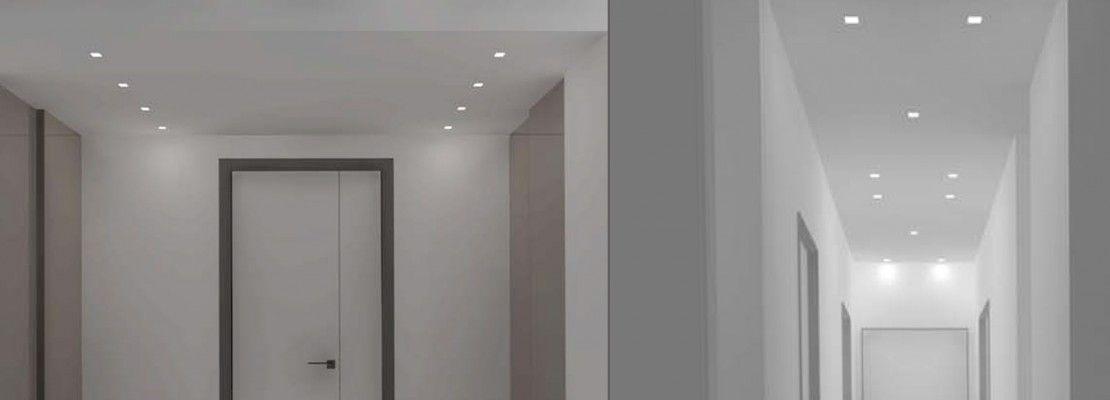 faretti led incasso cartongesso corridoio - Cerca con Google  corridoio  Pinterest  House