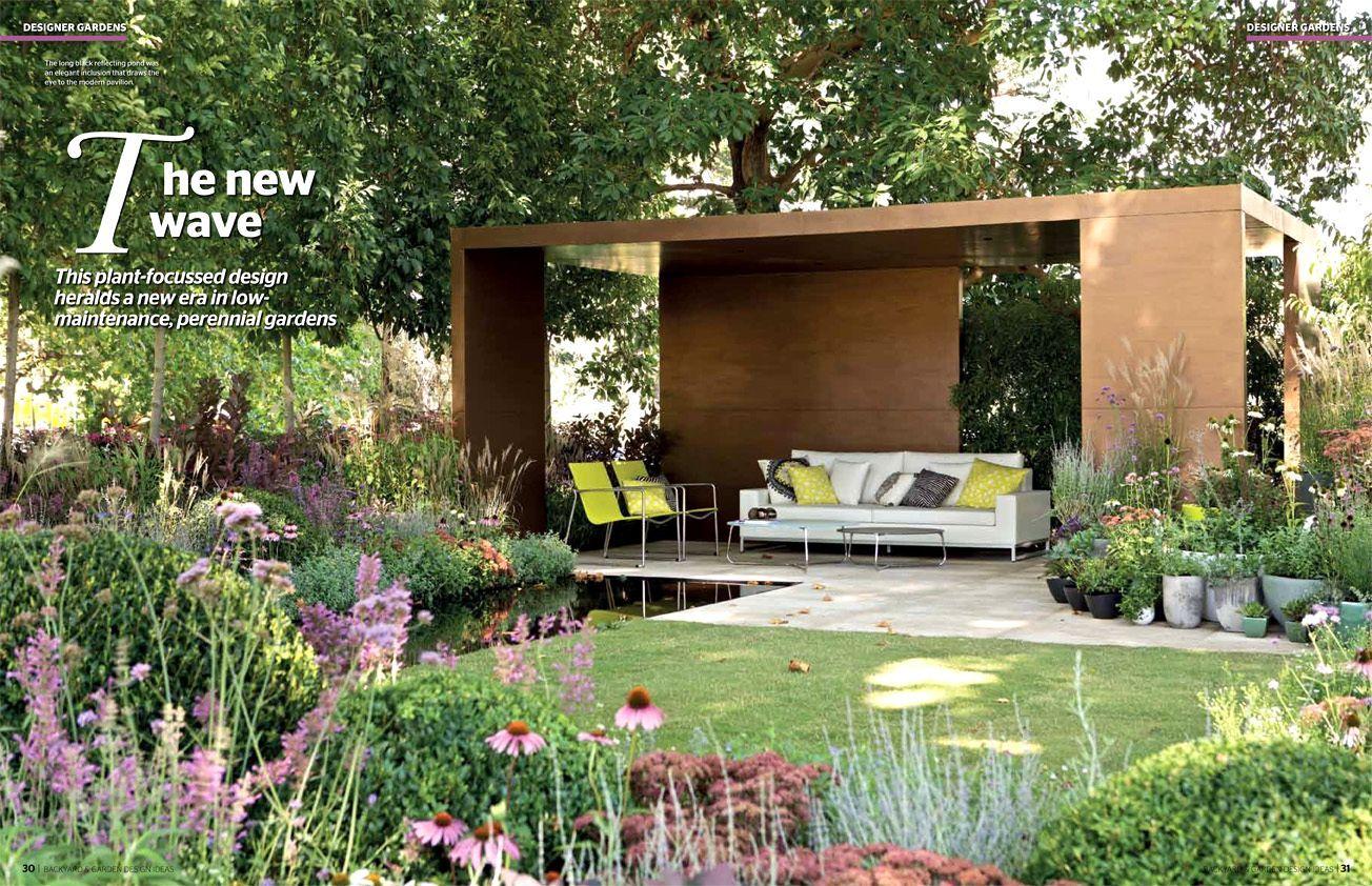 garden design ideas long thin garden ian barker gardens featuring in backyard amp garden design ideas