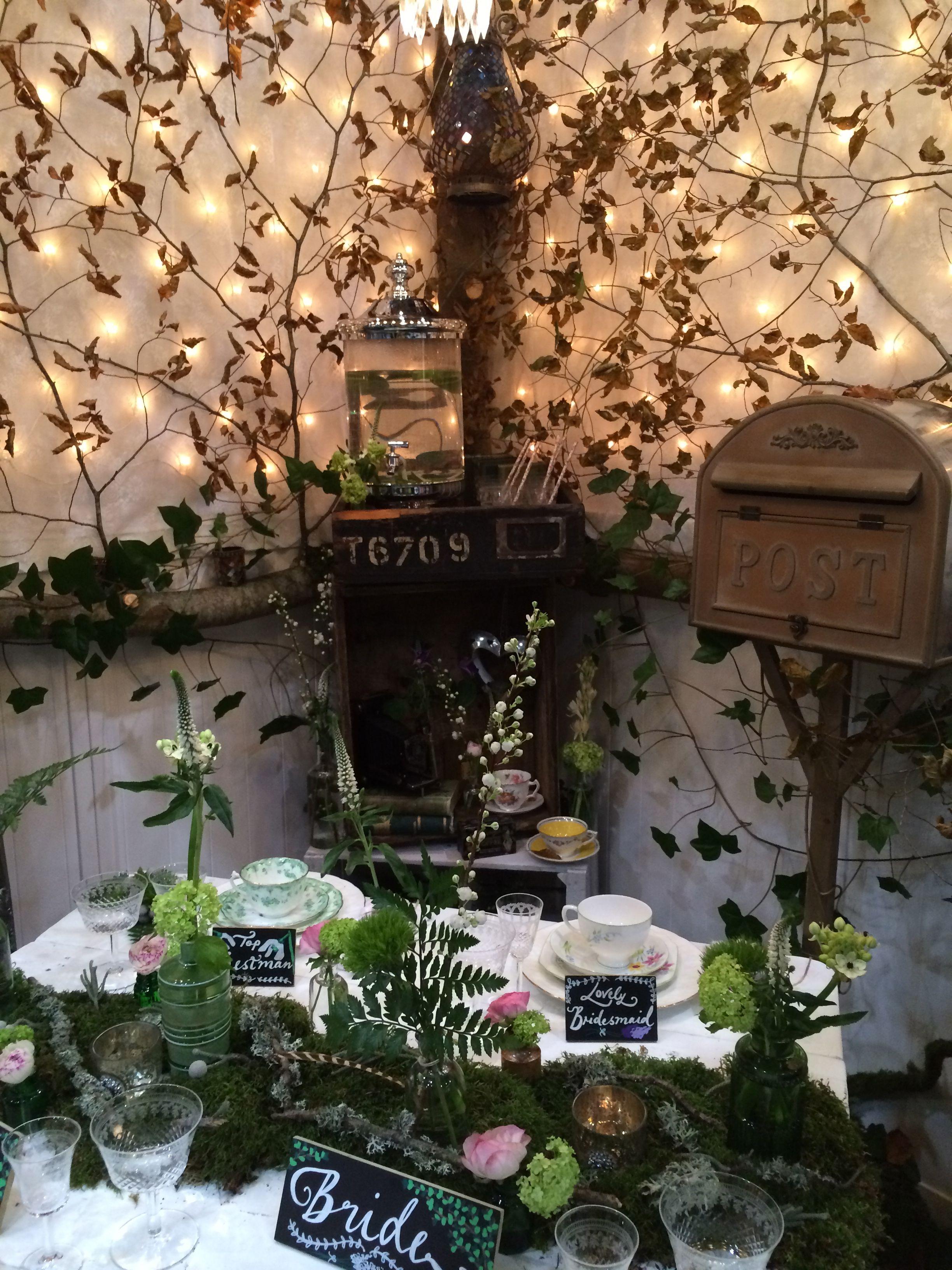Woodland theme wedding styling by hazel thomson a vintage tea woodland theme wedding styling by hazel thomson a vintage tea party junglespirit Images