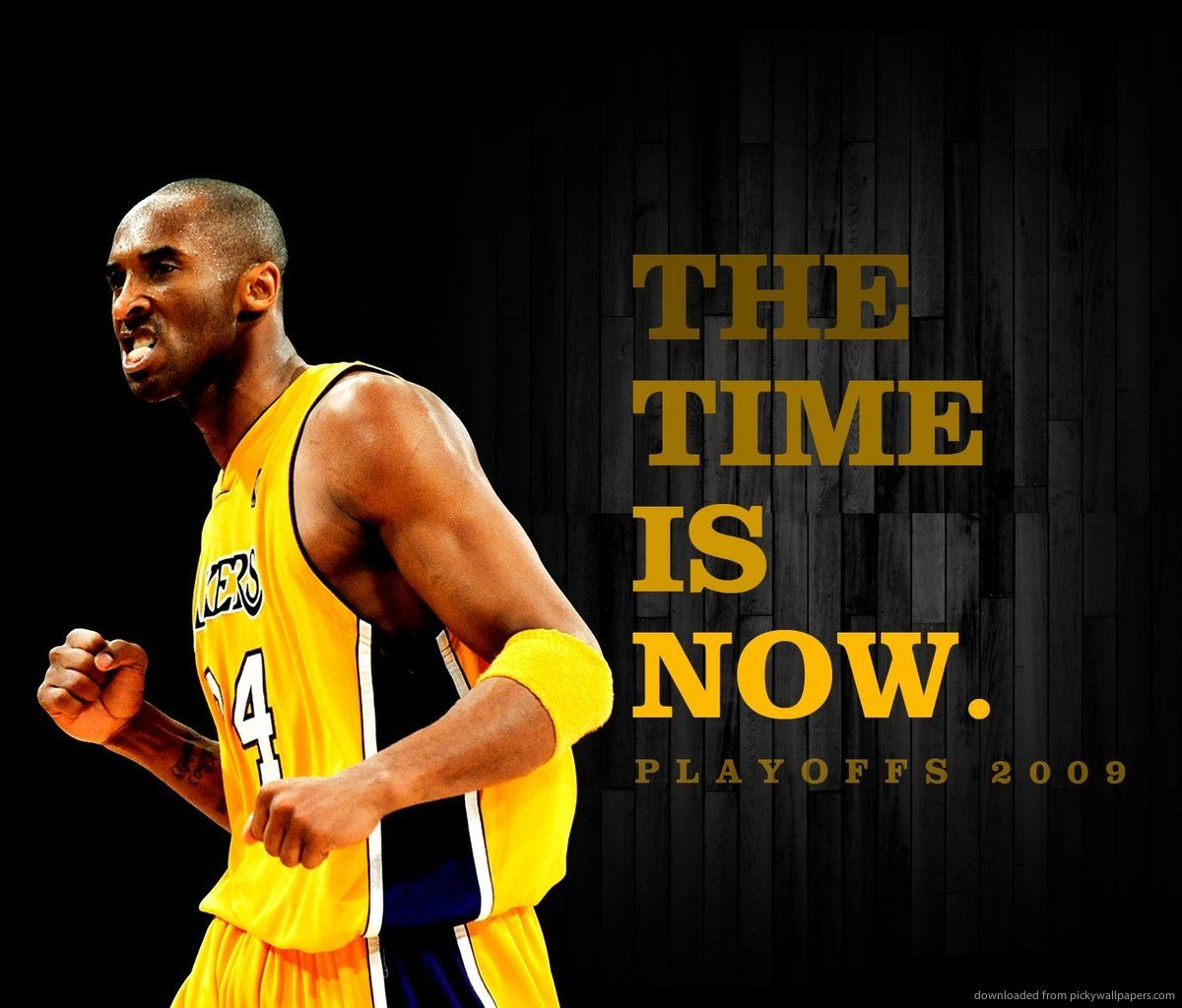 Download Kobe Bryant The Time Is Now Wallpaper For Samsung