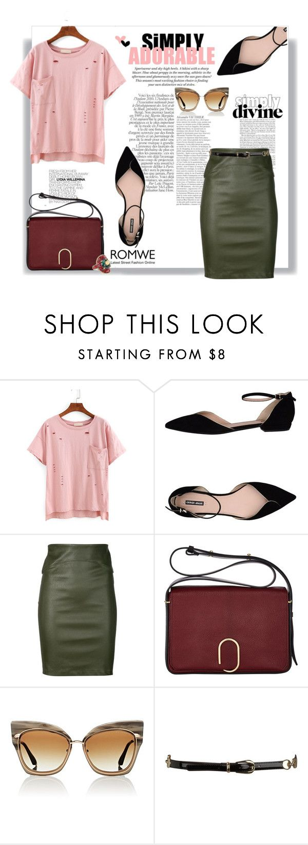 """Mundo de Ilusões"" by railda-pereira ❤ liked on Polyvore featuring H&M, Giorgio Armani, Chanel, Getting Back To Square One, 3.1 Phillip Lim, Dita, Dorothy Perkins, Gucci, romwe and statefair"